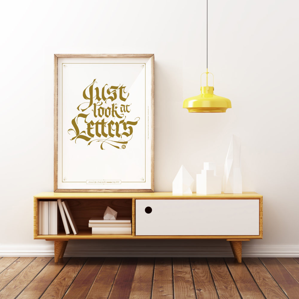just-Look-Letters-Poster-calligraphy